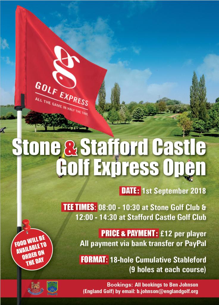 Golf Express Open Poster